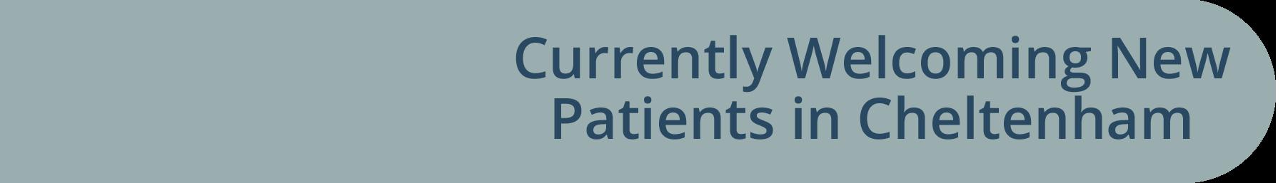 Welcoming new patients in shipways